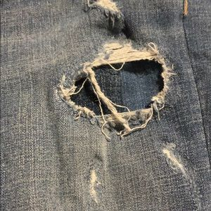 American Eagle Outfitters Jeans - American Eagle Distressed Jeans with jean underlay